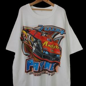 Other - Jeremy Payne 74 Sponsors Graphic Racing T-Shirt